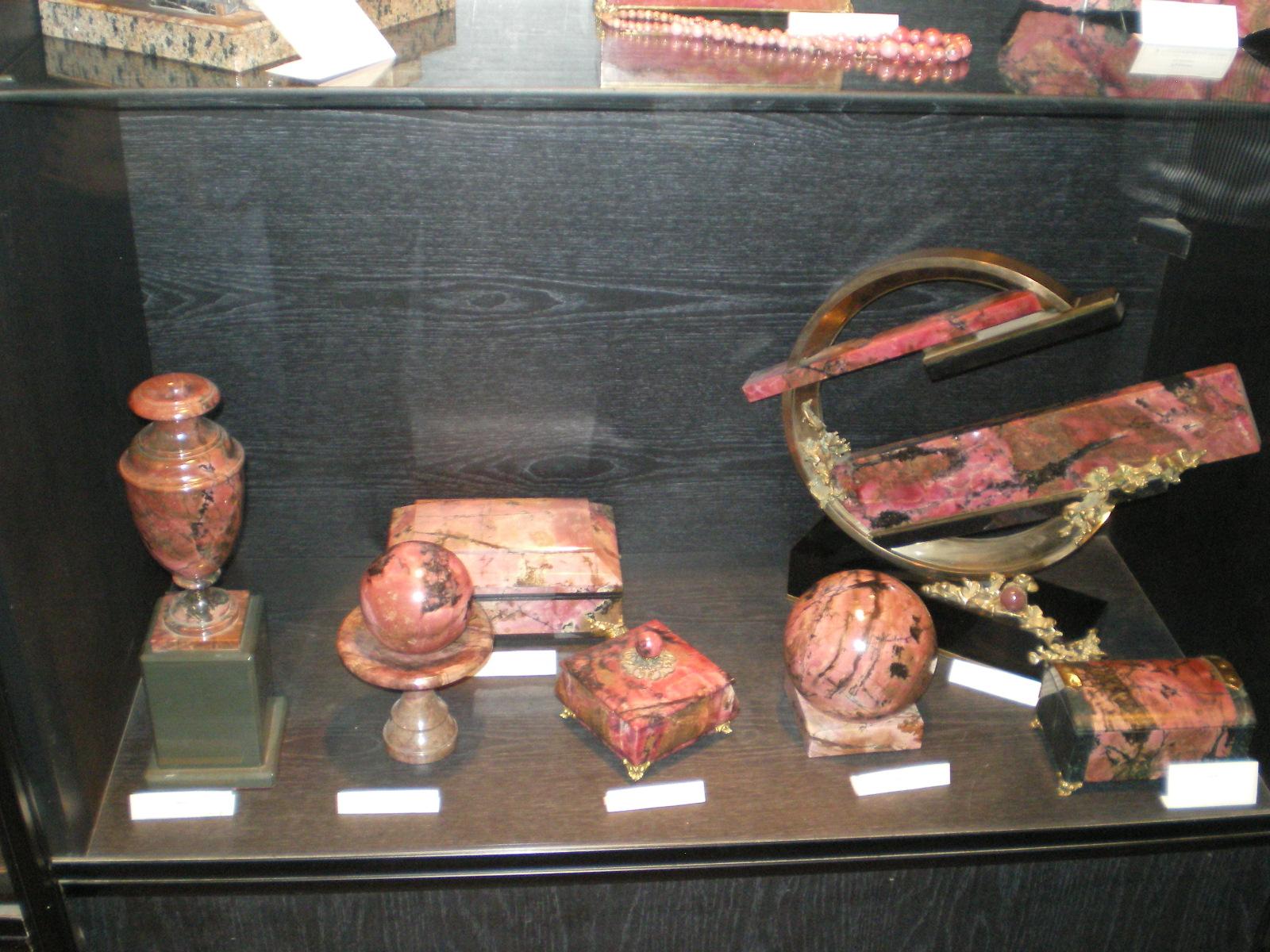Поделки из камня в екатеринбурге