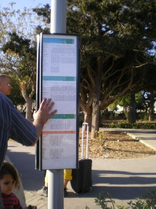 Расписание автобусов на Мальте. Обычная остановка.