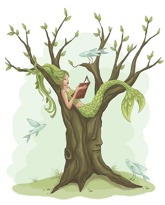 Mermaid-Tree-by-merwing-little-dear
